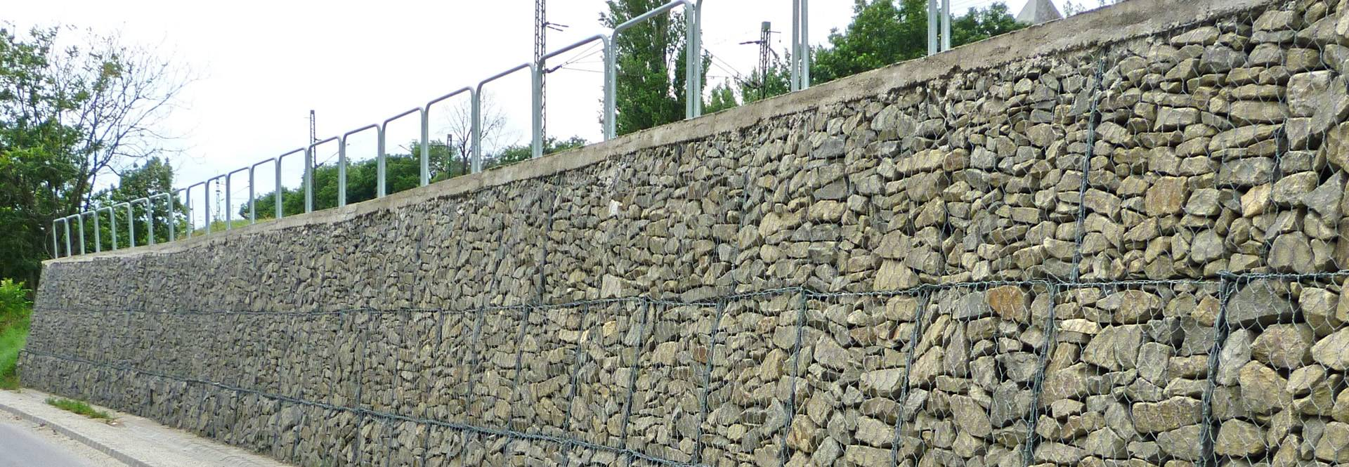 Landscape Supply Co >> Gabions - Protective Solution to Slope, Mountain and Riverway