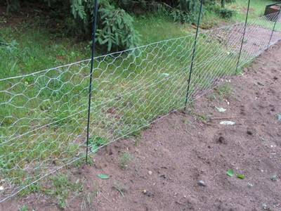 The garden fence is used as boundary fence of the garden.